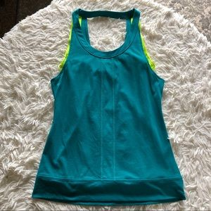 Lucy Double Layer Yoga Tank